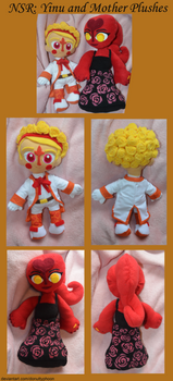 NSR: Yinu and Mother Plushes