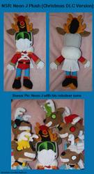 NSR: Neon J Plush (Christmas DLC Version)