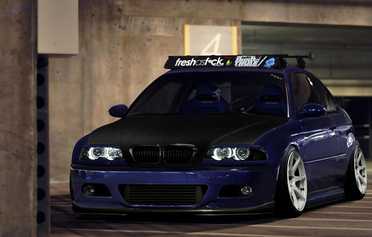 BMW E46 Stance by SrCky