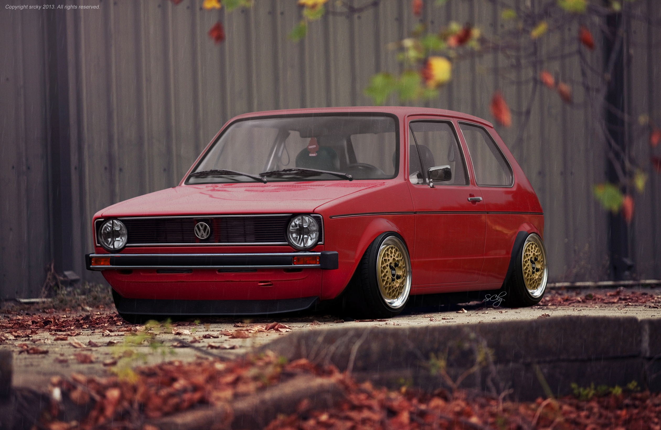 vw golf mk1 by srcky by srcky on deviantart. Black Bedroom Furniture Sets. Home Design Ideas