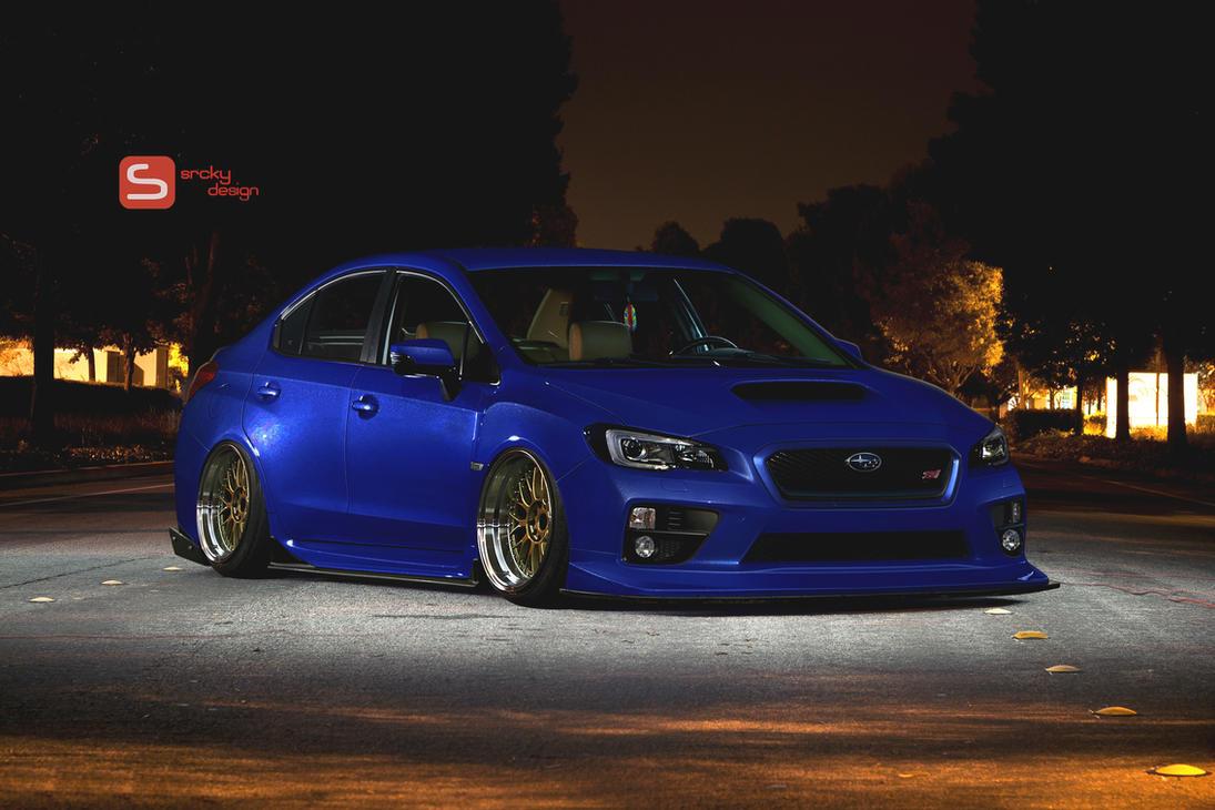 Subaru Wrx Slammed By Srcky On Deviantart