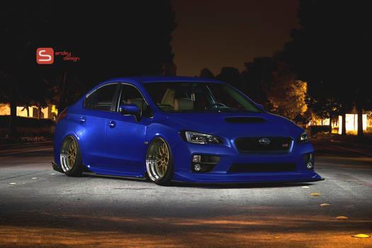 Subaru WRX Slammed