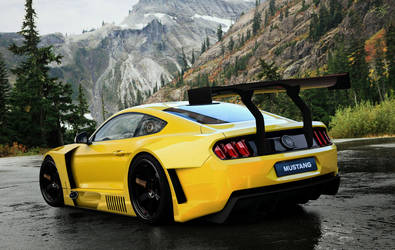 Ford Mustang 2015 Racing Bodykit by SrCky