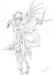 RavenBlackCrow by DragonnsBoss