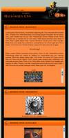 Halloween CSS - One Column