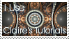 CJ Tutorials Alternate Stamp by ClaireJones