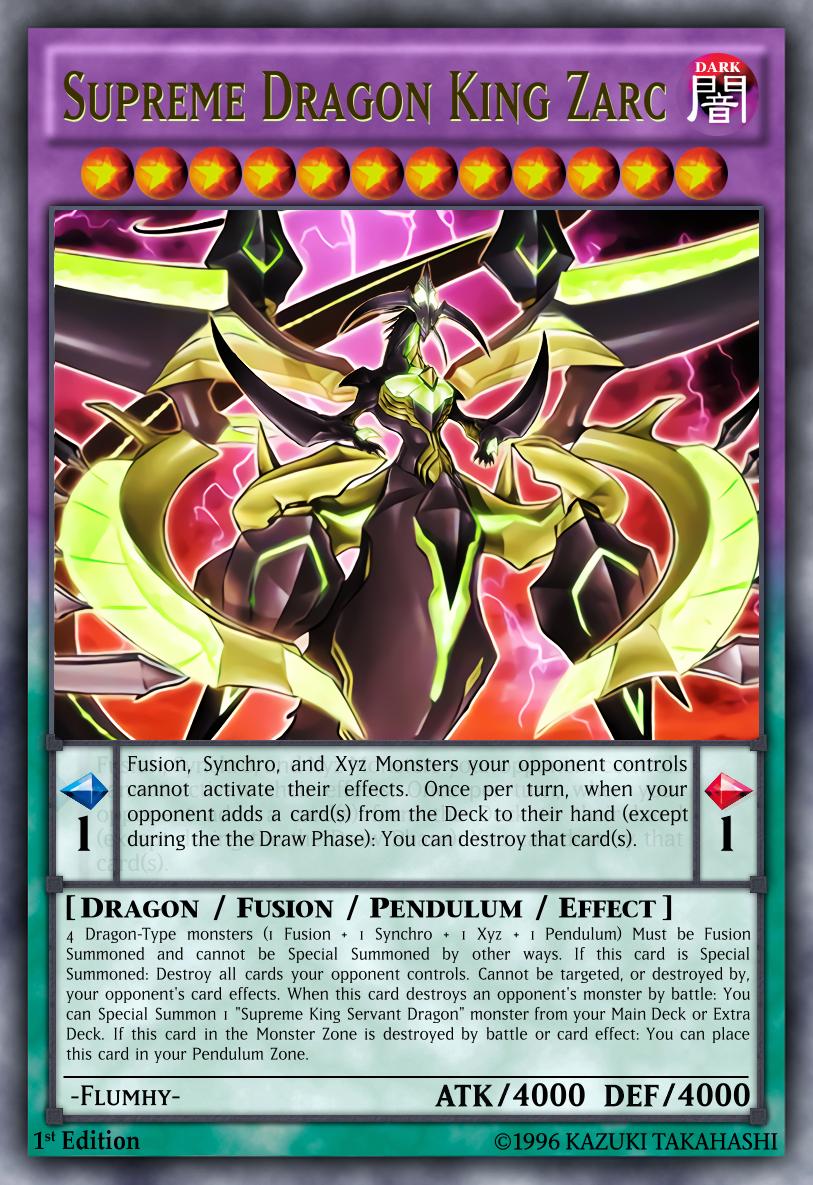 Supreme King Dragon Zarc  Flumhy By Flumhy
