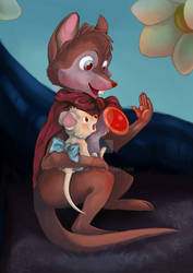 Mrs. Brisby by Momolumi