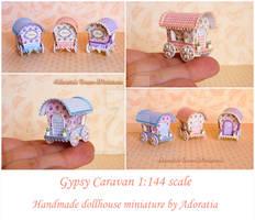 Gypsy caravan 1/144 scale