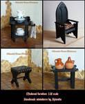 Dollhouse Medieval furniture