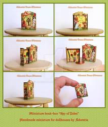 Miniature book box, Key of Tales
