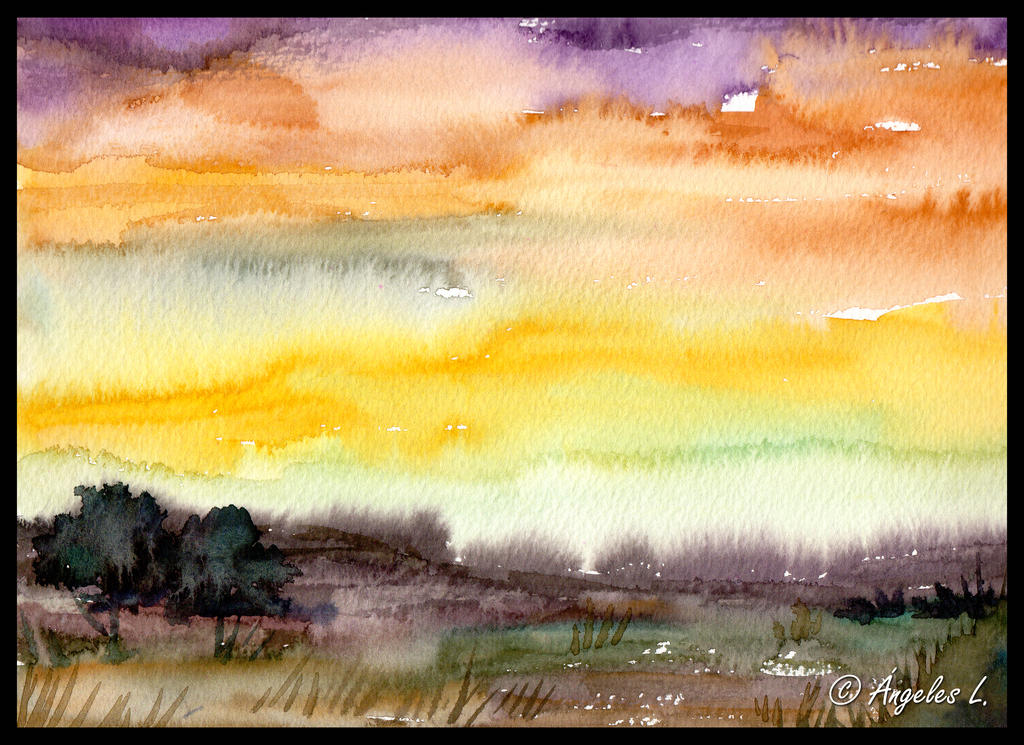 Colorful Sunset by Adoratia