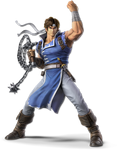 Super Smash Bros Ultimate Richter Render