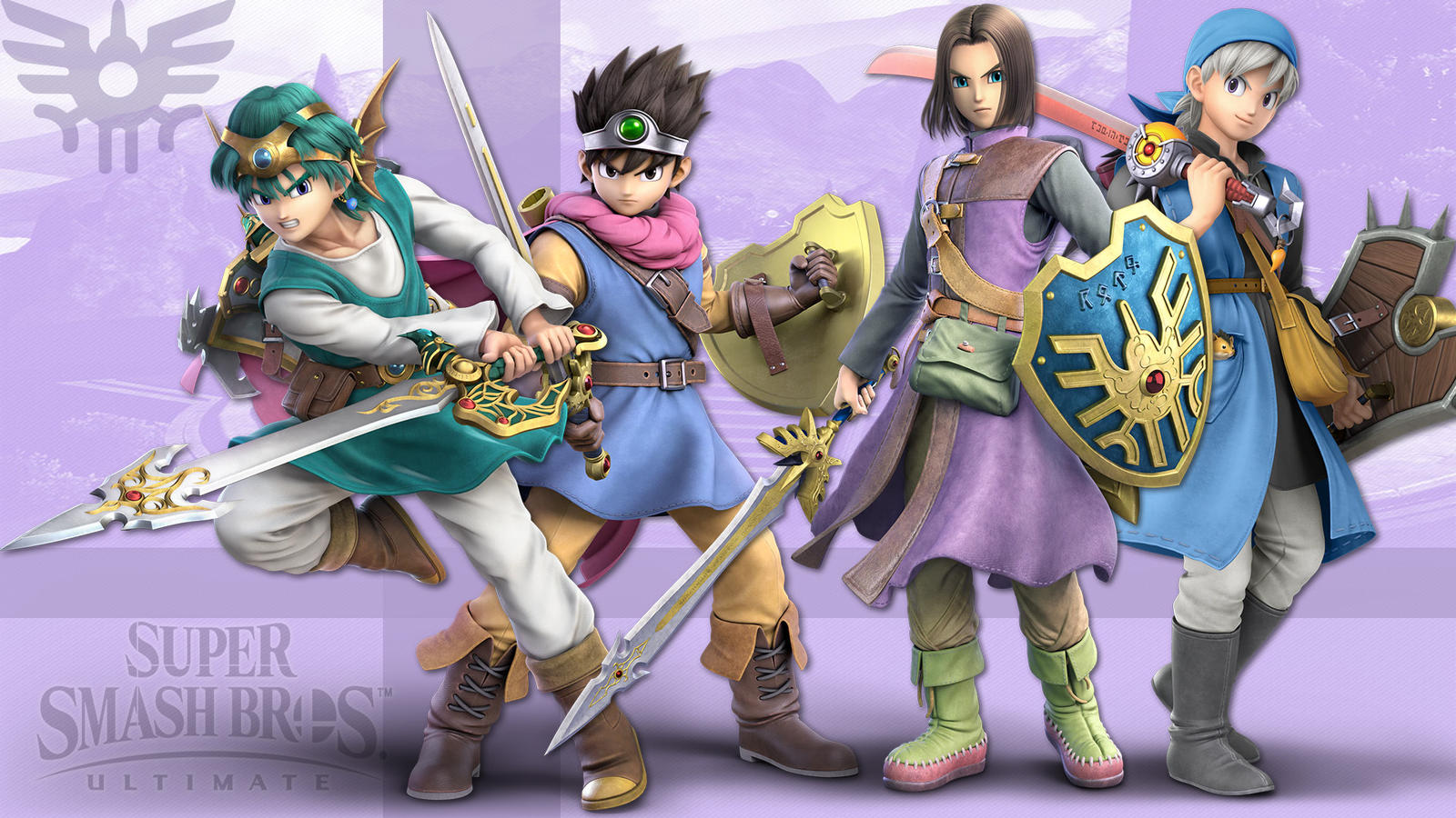 Super Smash Bros Ultimate Hero Wallpaper All By Leadingdemon0 On
