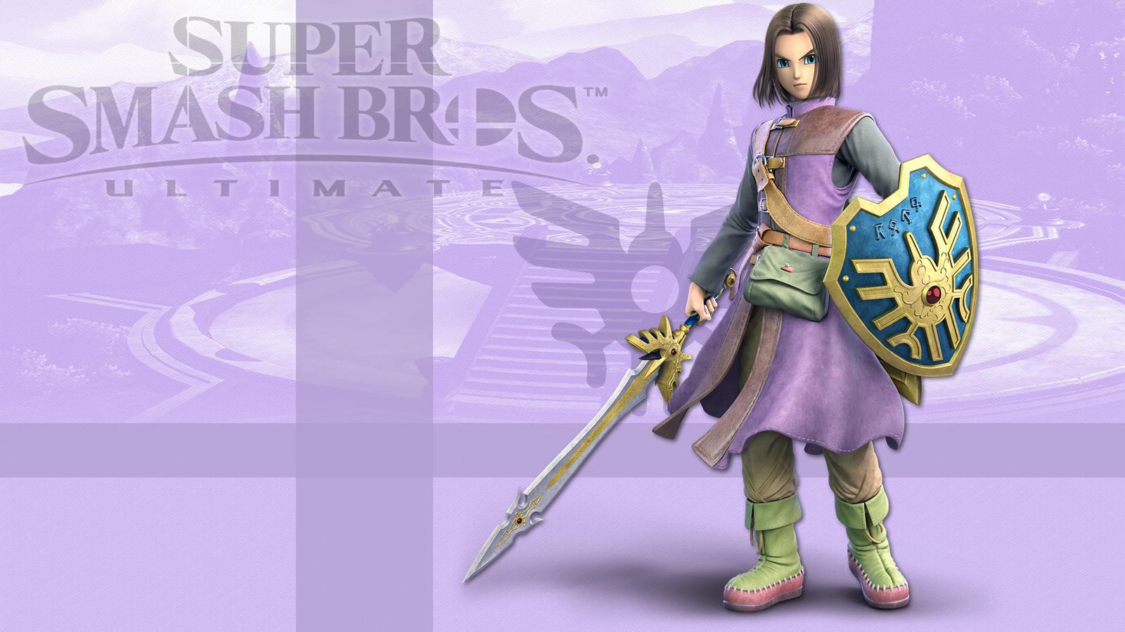 Super Smash Bros Ultimate Hero Wallpaper By Leadingdemon0 On