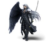 Super Smash Bros Ultimate Sephiroth Render