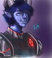 Trollhunters - Jim by Mikaisra