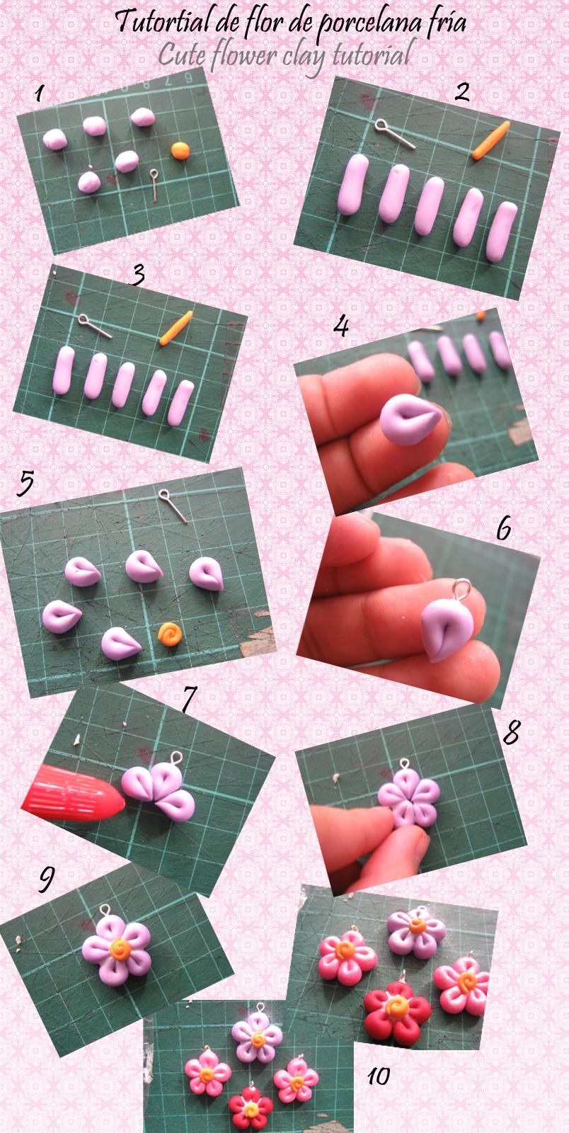 flower clay tutorial - photo #1