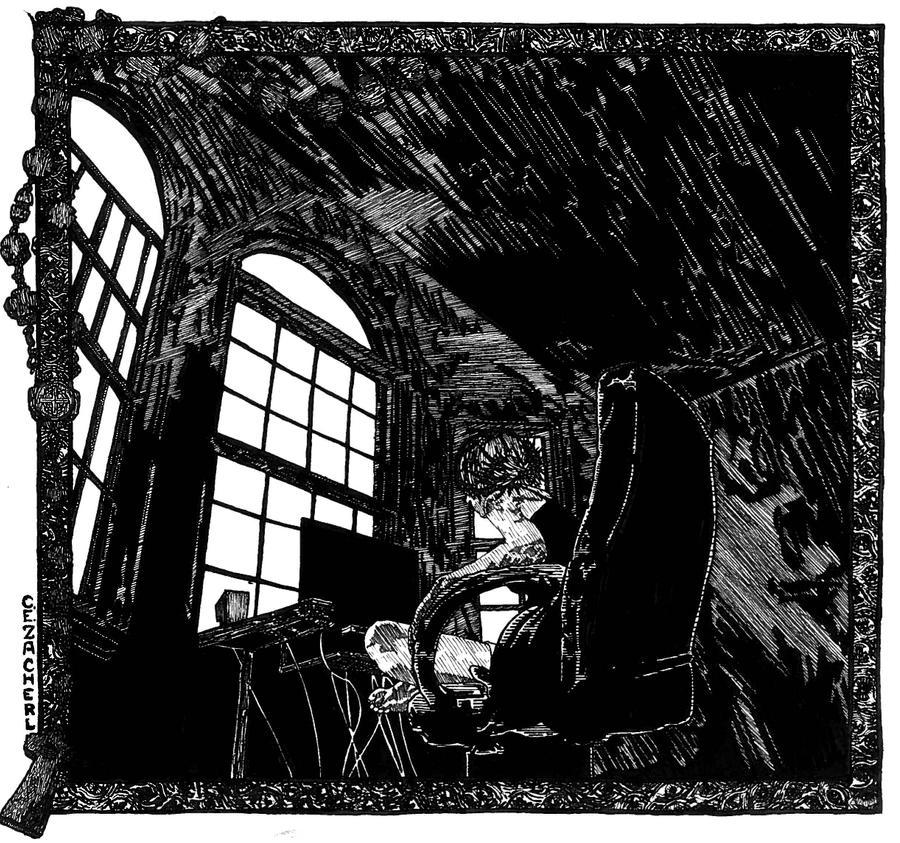 Unhuman : A haunted study. by CEZacherl