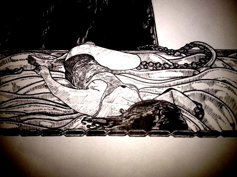 Rectory: a glimpse inside the nightmare 3 by CEZacherl