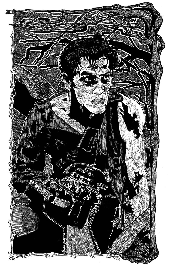 Bruce Campbell vs the Evil Dead by CEZacherl