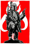 Boba Fett: Mandalorian Knight by CEZacherl