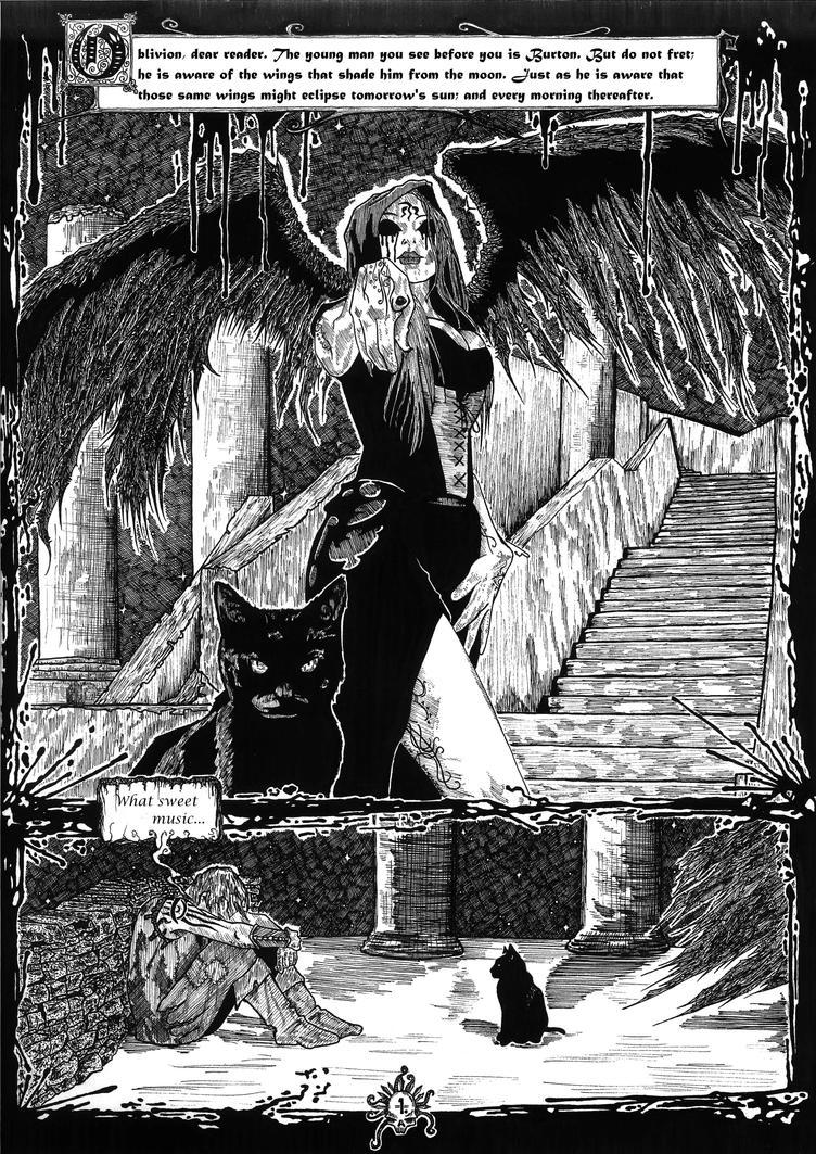 the Tragic Valentine, page one. by CEZacherl