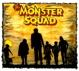 Monster Squad by CEZacherl