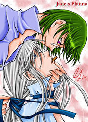 Jade X Platina from Apocripha by Eden-of-Yaoi