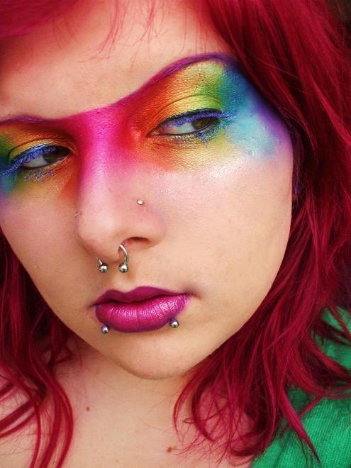 rainbow fish by itashleys-makeup