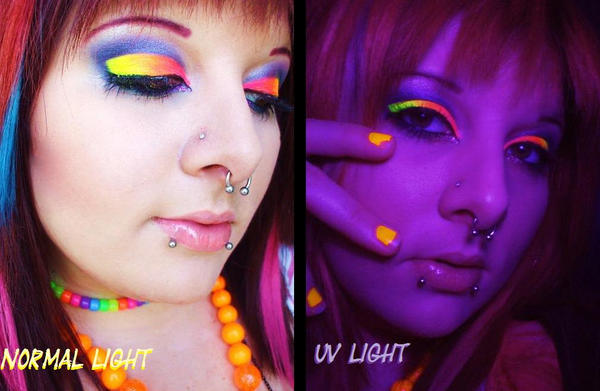 The Raver Scene by itashleys-makeup