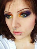 Peacock Spots by itashleys-makeup