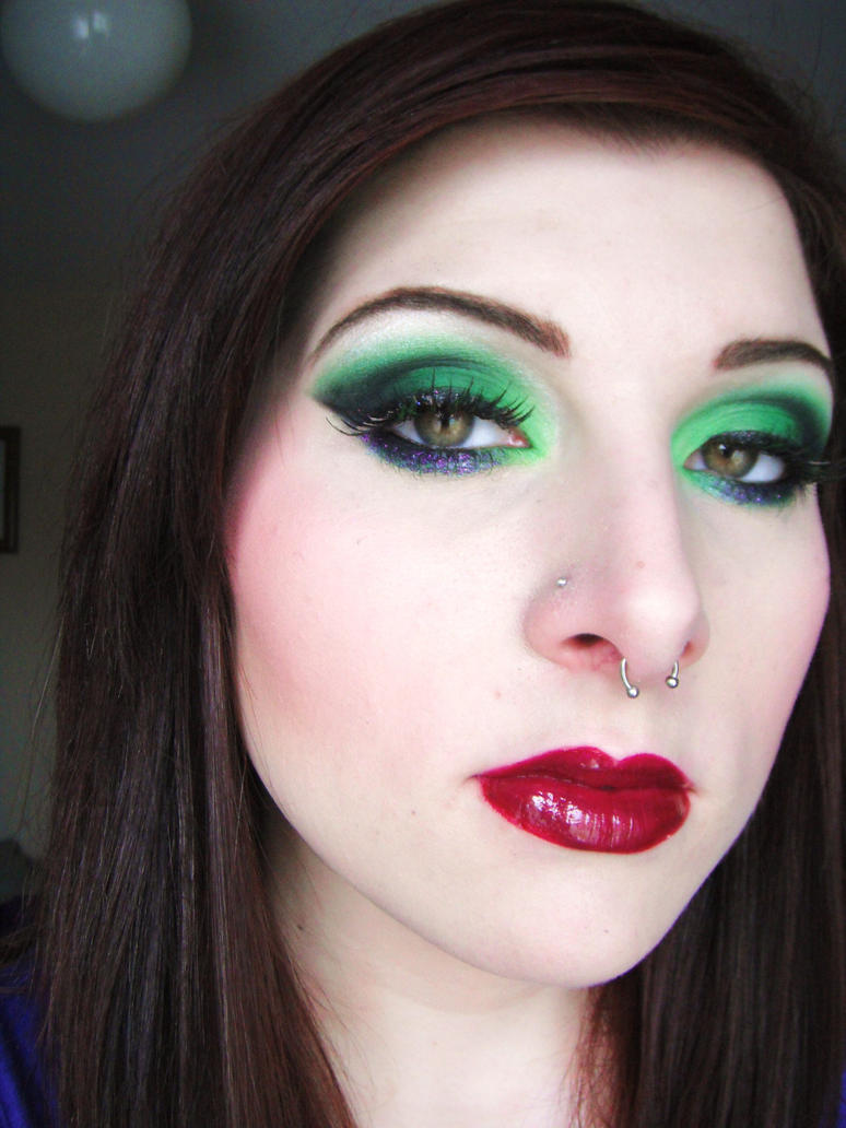 Wearable Sins: Envy by itashleys-makeup