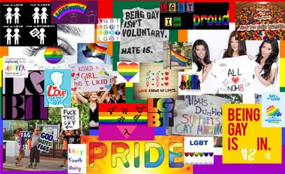 Pride Collage by OMGLikeRawrness