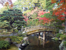 japanese garden 002 by Kebehut-stock