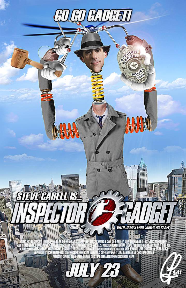 Inspector Gadget Mock Poster by ChrisLeroux on DeviantArt