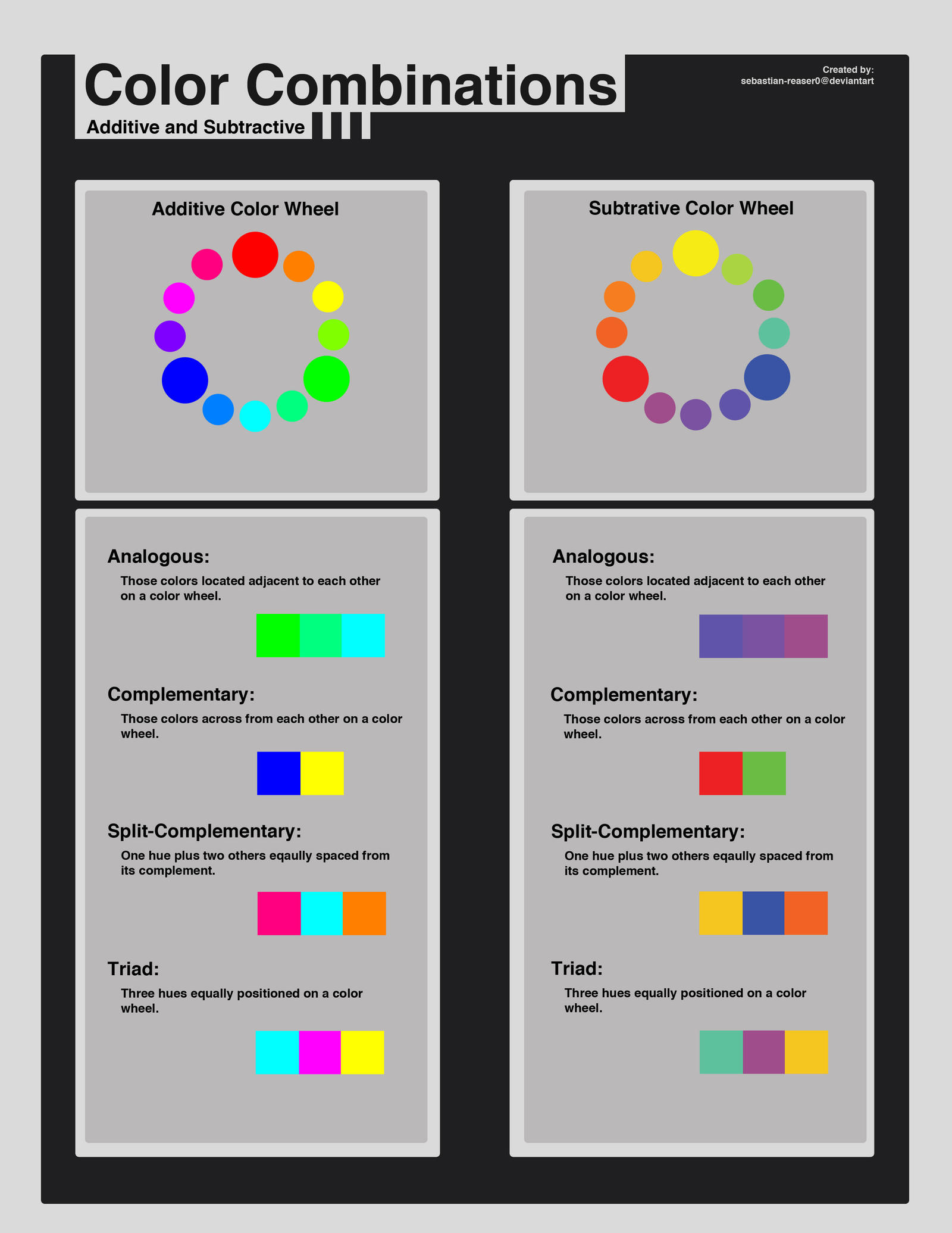 Natural Color Combinations