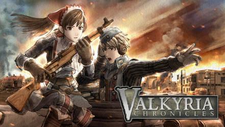 Valkyria Chronicles PSP Wall.1 by B4H