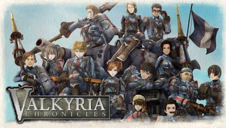 Valkyria Chronicles PSP Wall.2 by B4H