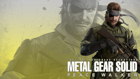 MGS: Peace Walker Wall. Snake by B4H