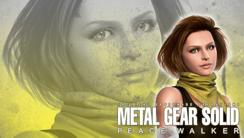 MGS: Peace Walker Wall. Amanda by B4H