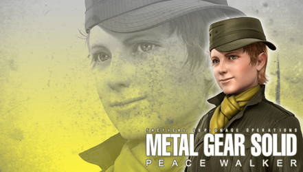 MGS: Peace Walker Wall. Chico by B4H