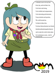 Hilda as a Lumberjane by Kitty-cat-Fox