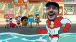 OK KO made Captain planet cool| Nostalgia Critic by Kitty-cat-Fox