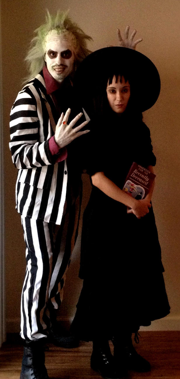 beetlejuice and lydia by xd00rx on deviantart