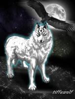 Wind wolf element by tiffawolf