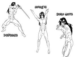 manga Male anatomy and poses by tiffawolf