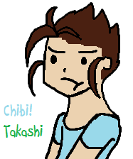 Chibi Takashi by perfection-rebel