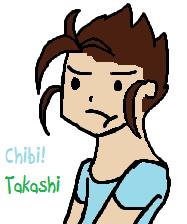 Chibi Takashi by perfection-rebel