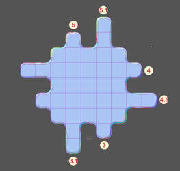 Match 3 Game: Modular playing field - variations3